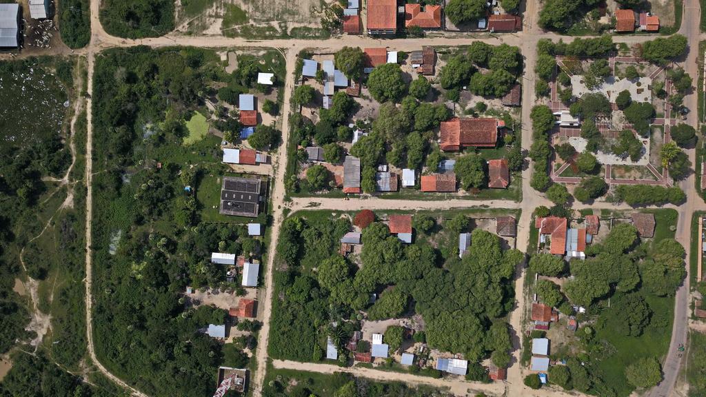 Aerial photos from San Javier Boliivia